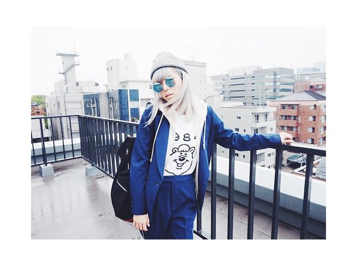 若槻千夏「超シルバー」ヘアにイメチェン BIGBANG・T.O.Pがお手本