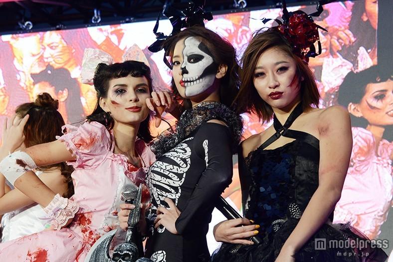 婚約発表のモデル・ソンイ、恐怖のドクロ仮装で出現「イメージは死神」
