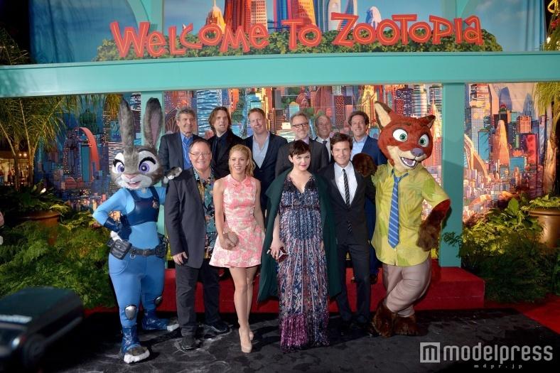 ディズニー「ズートピア」USプレミア開催、歌姫登場で興奮MAX