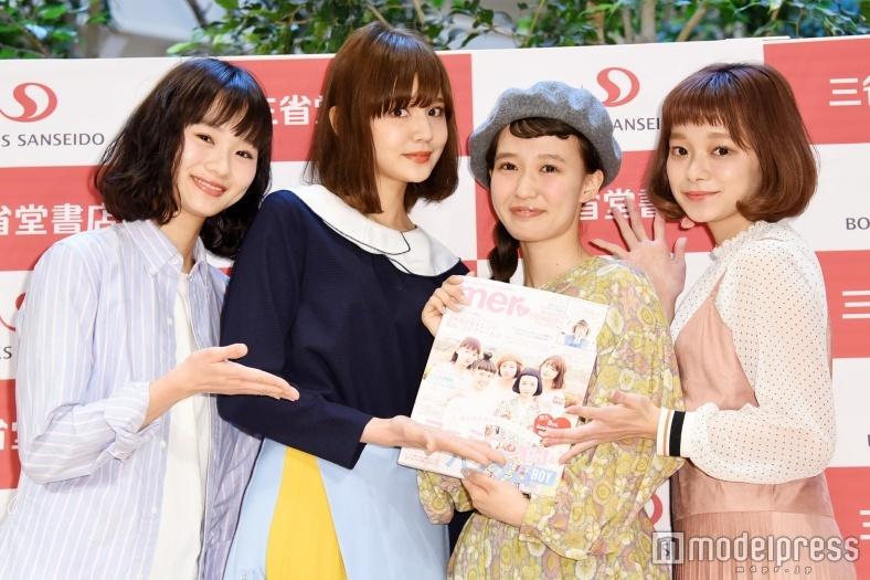 青文字系モデル柴田紗希&村田倫子ら、三戸なつめの活躍に刺激 将来の夢を明かす