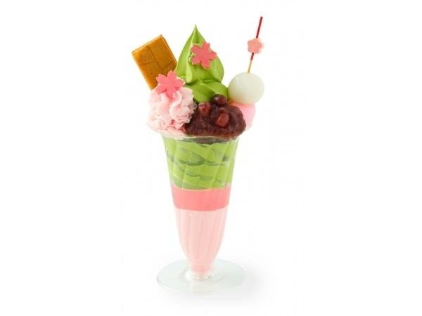 さくら尽くしの可愛さに心ウキウキ♪祇園辻利のお花見ソフトが食べられるのは、東京スカイツリータウン・ソラマチ店だけ