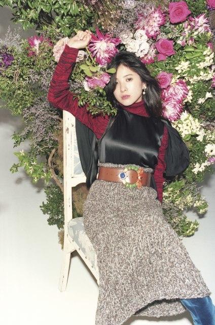 吉高由里子、MIU MIUを華麗に着こなし ロマンティックな世界観で美を表現