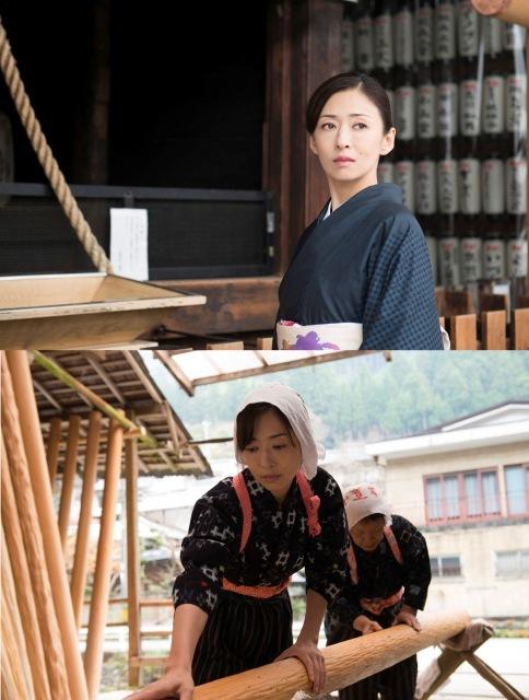 松雪泰子が映画で一人二役挑戦 川端康成『古都』のその後描く