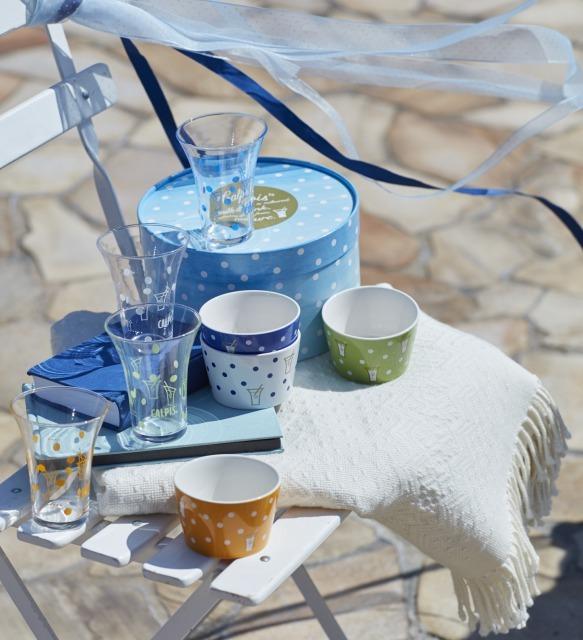 カルピスとコラボ Afternoon Tea LIVINGのオトナ水玉アイテム