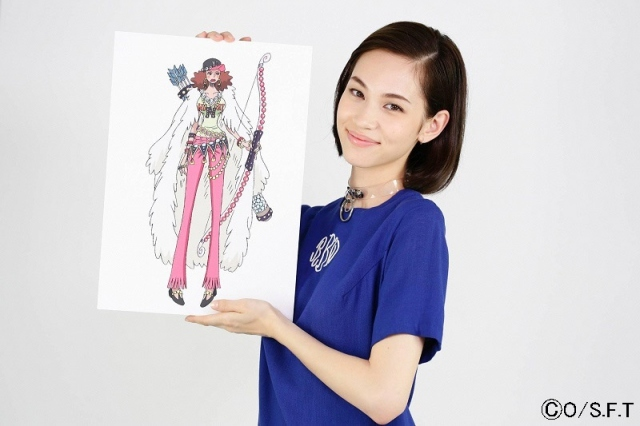 水原希子、『ワンピース』夏SPで声優初挑戦