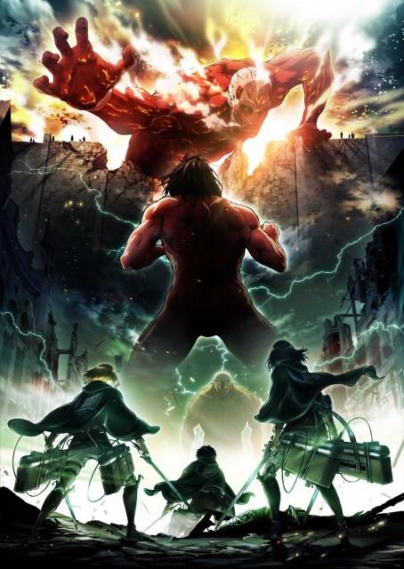 アニメ『進撃の巨人』2期、来春放送開始 新ビジュアルも公開