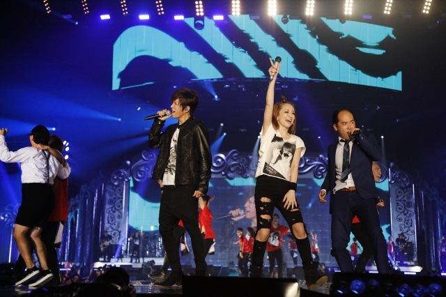 浜崎あゆみライブでGACKT、トレエンが初共演 斎藤はタジタジ「呼んでたの?」