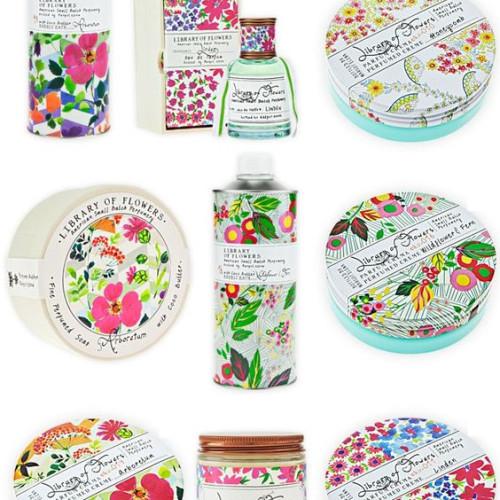 アメリカ発コスメ『ライブラリーオブフラワーズ』の花柄パッケージが可愛い♡ランキング