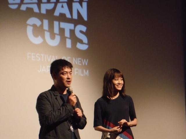 前田敦子、米映画祭でスピーチ 『モヒカン故郷に帰る』に喝采