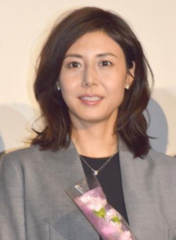松嶋菜々子、3年ぶり主演ドラマは2ケタ発進 初回視聴率10.2%