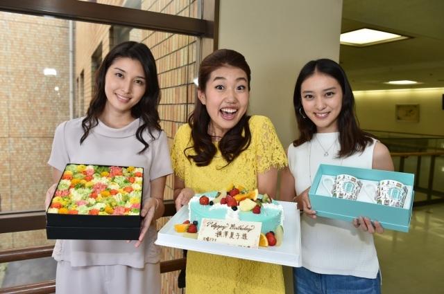 横澤夏子、武井咲&タッキーから誕生日祝われ興奮