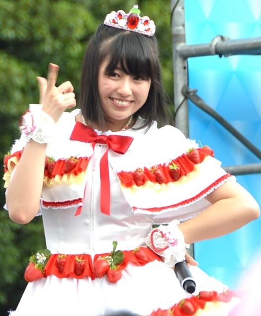 ももクロのアイドル佐々木彩夏、TIFに6年ぶり凱旋