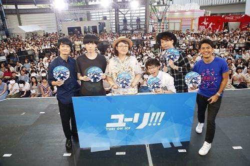 フィギュアスケートアニメ『ユーリ!!! on ICE』キャスト追加発表