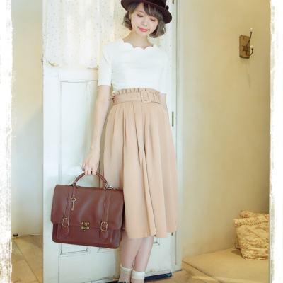 F i.n.tに学ぶ♡夏→秋のクラシカルガーリーファッション