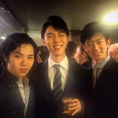 羽生結弦選手、宇野昌磨選手、山本草太選手好きな人集まれ!