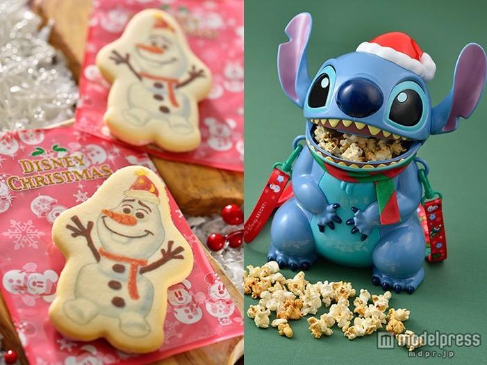 ディズニークリスマス、一足お先にフードやグッズをチェック ミッキーもオラフもスティッチもサンタ風!<写真特集>