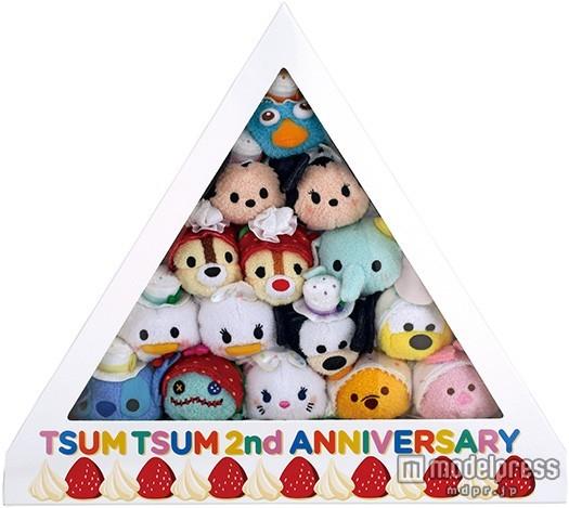 ディズニー「ツムツム」2周年記念、誕生日ケーキになって登場