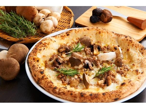 大黒本しめじ、カラスミ…秋の食欲を彩るピッツァや大人のカルボナーラなど登場!