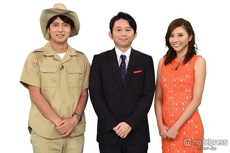 有吉弘行・山岸舞彩、日テレ桝太一アナと「クイズの甲子園」見守る