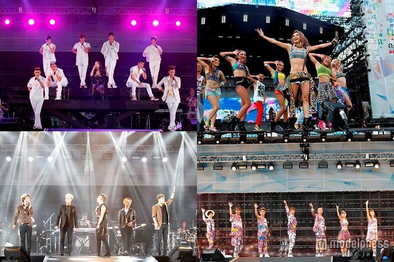 浜崎あゆみ、倖田來未、BIGBANG、AAAら豪華集結 観客5万5000人熱狂