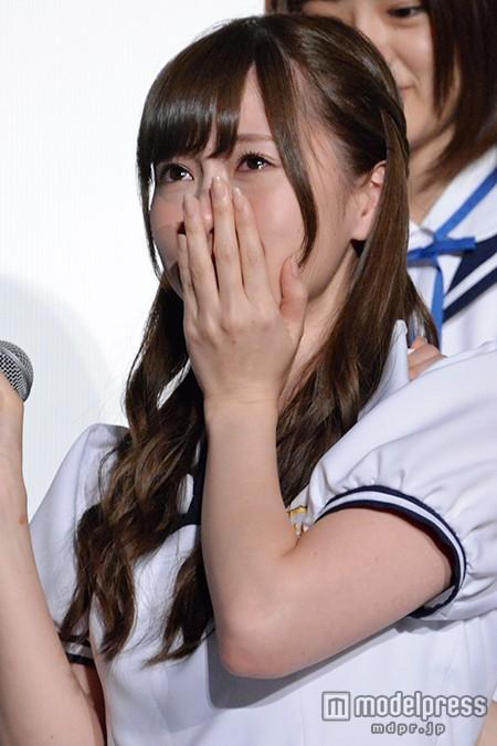 乃木坂46白石麻衣が号泣「親孝行できたかな」 今後の活動に意気込み