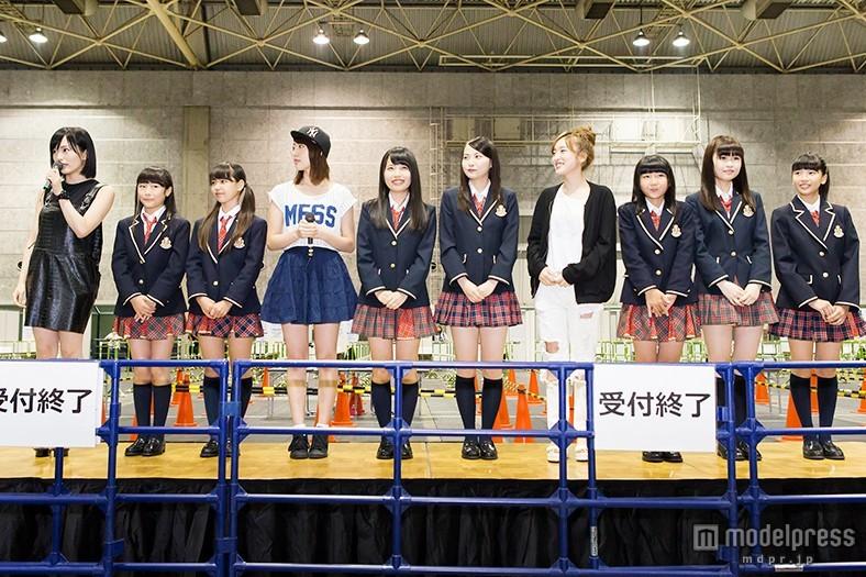 NMB48、ドラフト2期生を初お披露目 山本彩らキャプテンが期待