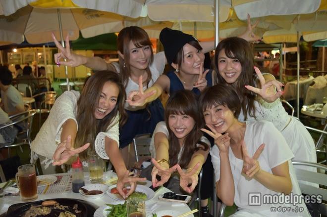 izu、元「Popteen」モデル同窓会を公開 くみっきー、おかりえら6人が豪華集結