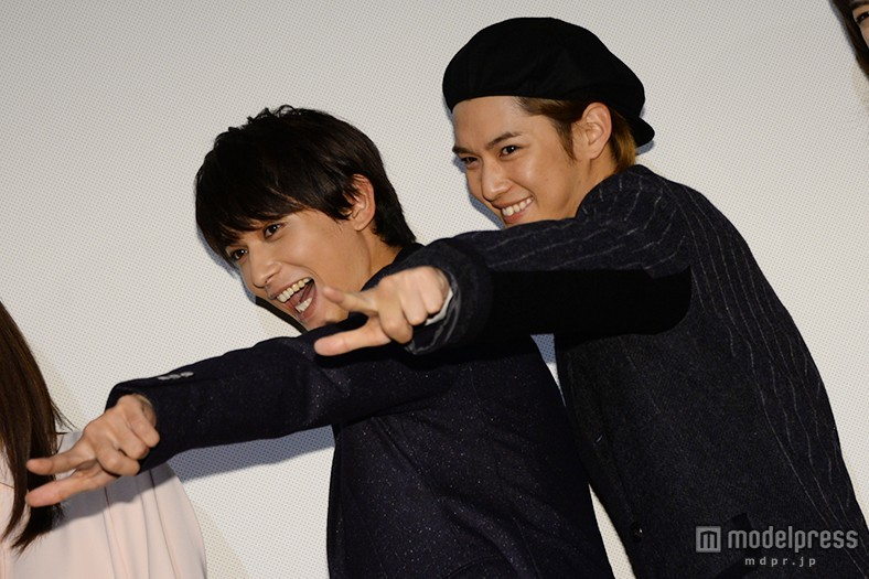 千葉雄大&吉沢亮「ニコイチですから!」対照的な恋愛観&ファンサービス炸裂で女子悲鳴