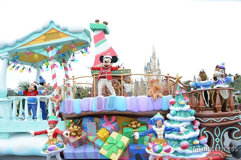 ディズニーランド、クリスマス新パレード 絵本から飛び出した世界<詳細レポ/写真特集>