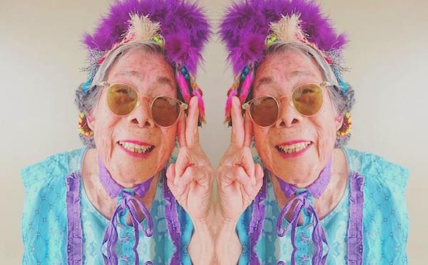93歳のインスタアイドル!?孫の衣装を着こなすハッピーおばあちゃんが人気に!