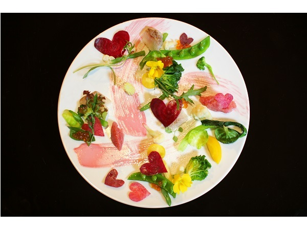 深夜の美食、午前0時のフレンチごはんのお店「gina」からバレンタイン限定メニューが登場!
