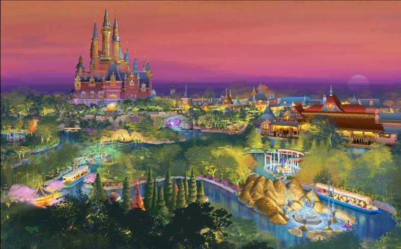 上海ディズニーランド、入場料&チケット販売日を発表