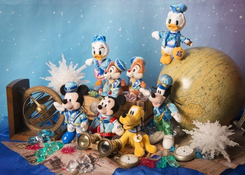 ディズニーシー15周年、230種類のスペシャルグッズでお祝い<写真特集>