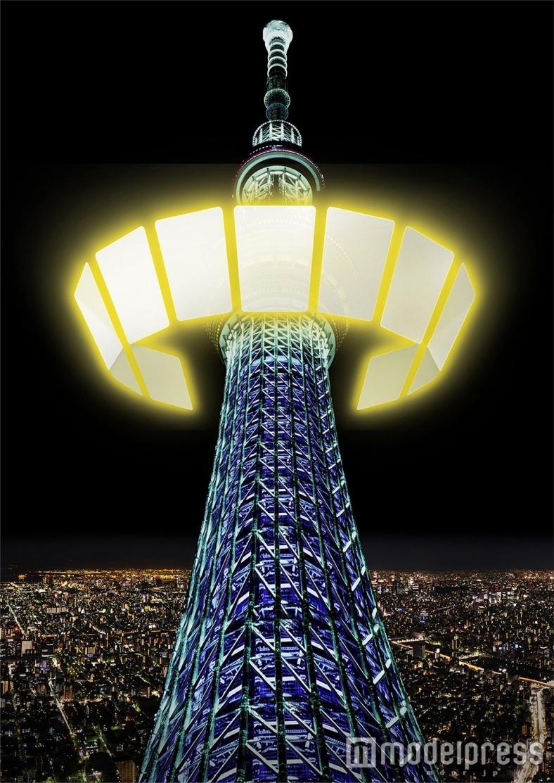 東京スカイツリー、迫力の映像×パフォーマンスの新ナイトショー上演