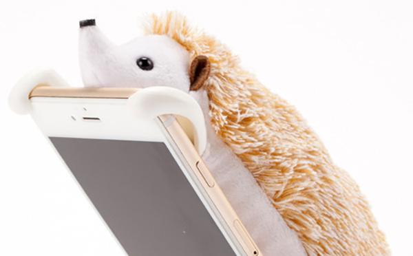もふもふ♪キュートなぬいぐるみ型iPhoneケースがTwitterで話題