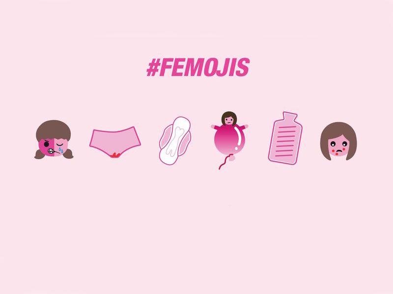 いま地球上の3億人が生理。タブーに挑む女子絵文字 #Femoji