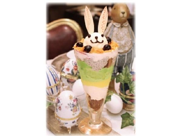 イースターはうさぎシュークリームで人気の「ニコラハウス」へ!新食感のわさびパフェなど、期間限定メニューが見逃せない!!