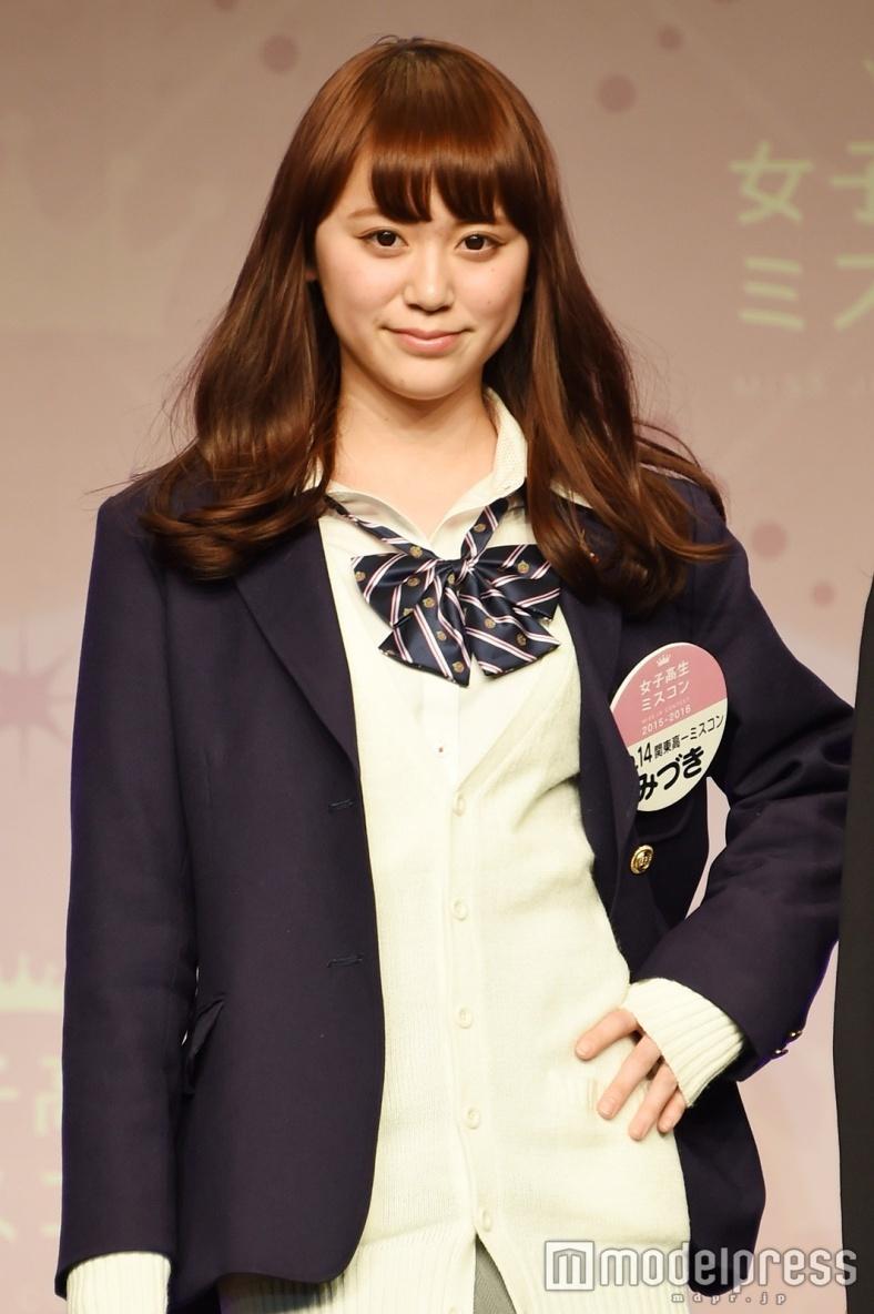 """日本一かわいい女子高生""""を決めるミスコンで演技賞のみづき、早くも"""
