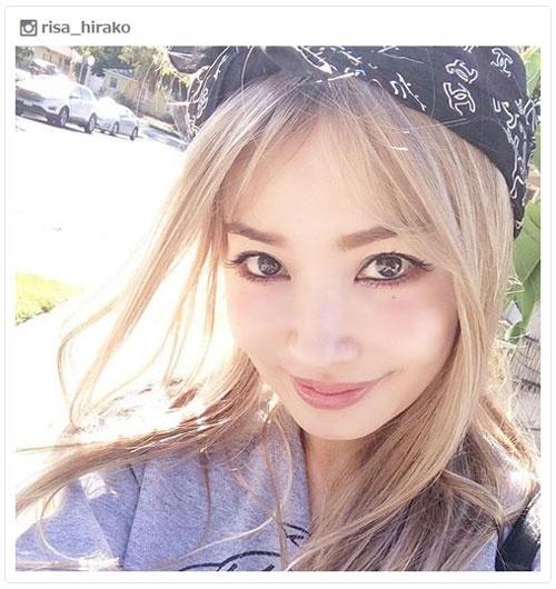 平子理沙、金髪に大胆イメチェン ファンから反響続々「違う雰囲気」「美しすぎる」