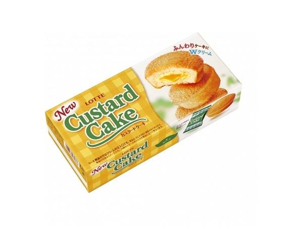 ロッテのカスタードケーキが大幅リフレッシュ&トッポに厳選「黒蜜きなこ」味が新登場!
