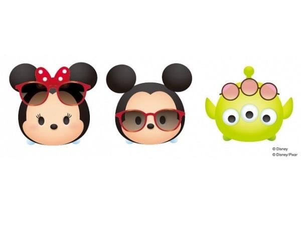 オフィスでもミッキーやプーさんと一緒♪「ディズニー ツムツム」のブルーライト対策メガネが初登場