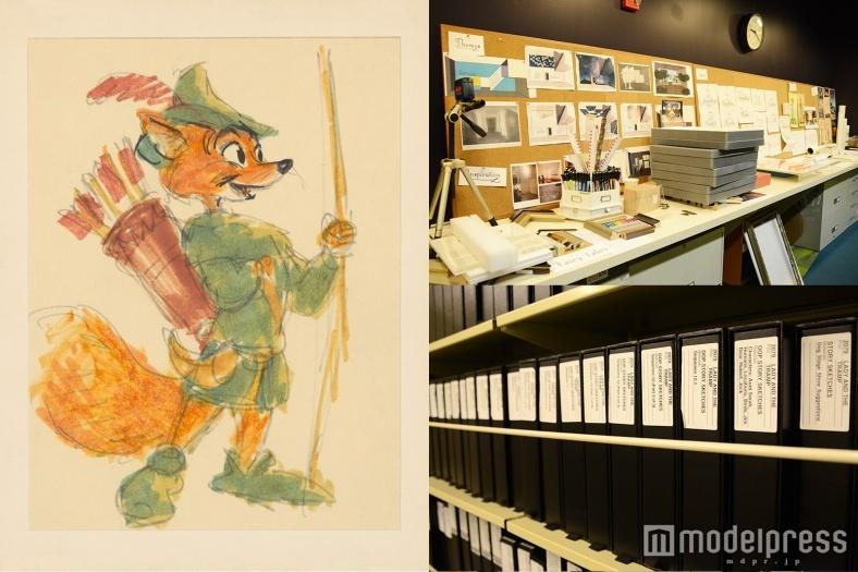 ディズニーの歴史が全てここに 約6500万点のアニメーション・アート<米アニメーション・スタジオ取材Vol.1>