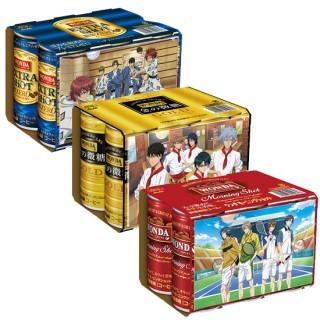 『テニスの王子様』×コーヒー「ワンダ」コラボ決定!特典付