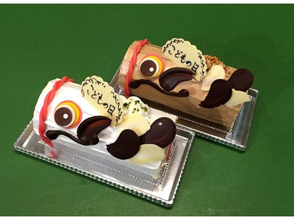 空を泳ぐ「こいのぼり」そっくりのロールケーキで、子どもも大人も笑顔あふれるゴールデンウィークを