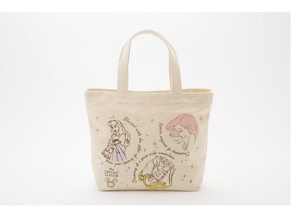 ジュエルナローズが6周年記念の数量限定ディズニープリンセストートバッグを発売!