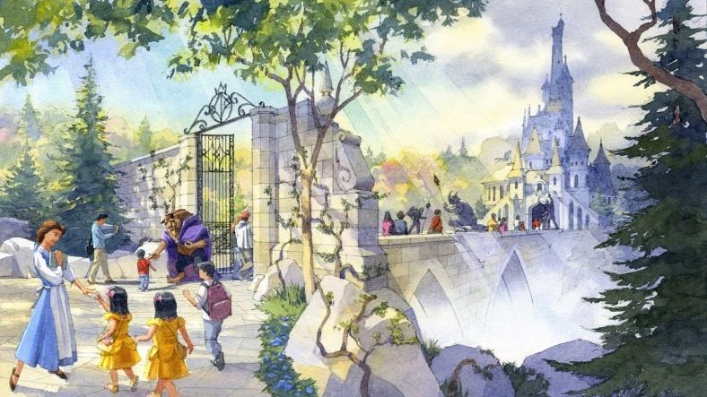ディズニーランド、シー「美女と野獣」「ベイマックス」「ソアリン」など新アトラクション&施設開発計画を発表