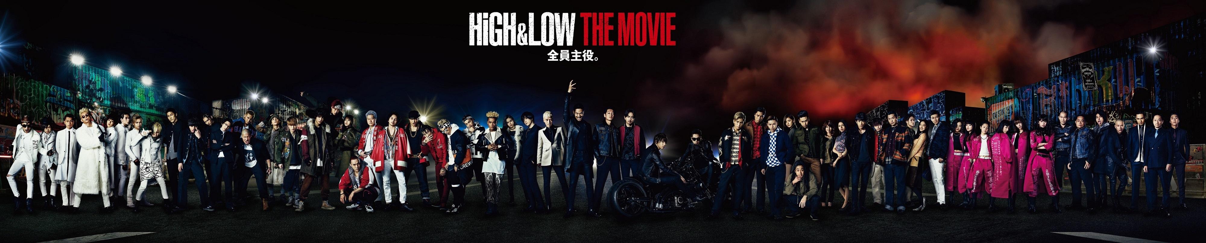 総勢62名が横一列に!『HiGH&LOW THE MOVIE』集合ビジュアル解禁