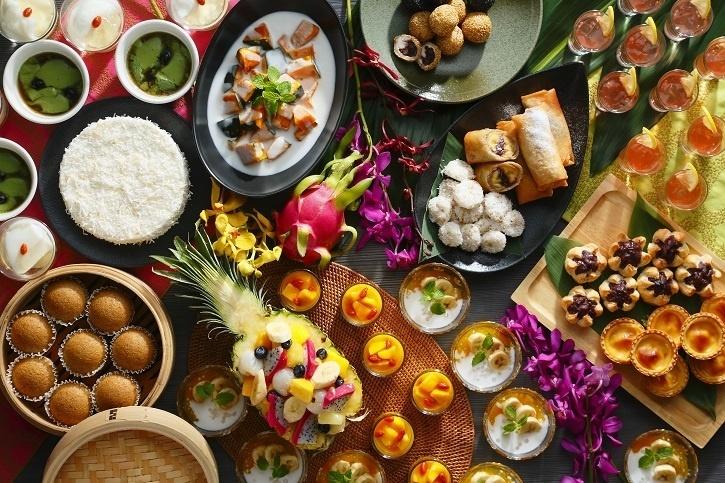 6か国のアジアンスイーツをお腹いっぱい堪能 時間無制限のブッフェ開催