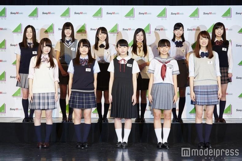 """欅坂46のアンダーグループ""""けやき坂46""""合格者発表<プロフィール>"""