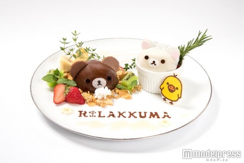「リラックマカフェ」が大阪にオープン 可愛いデザートプレートにキュン